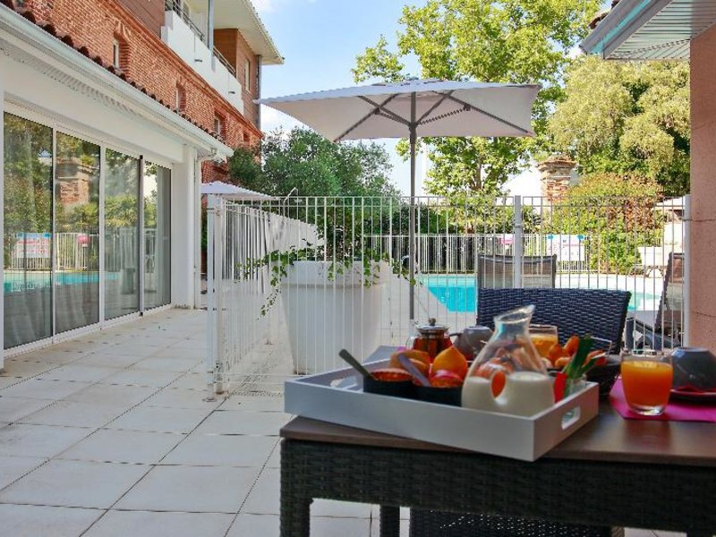 AppartCity Toulouse Colomiers Terrasse