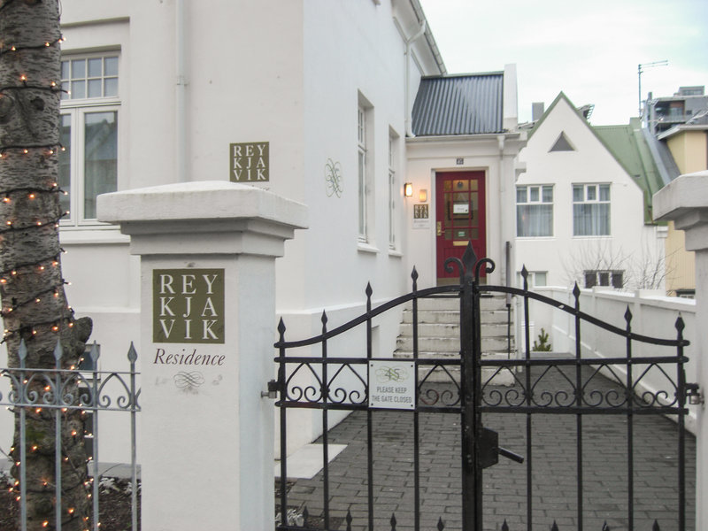 Reykjavik Residence Hotel Außenaufnahme