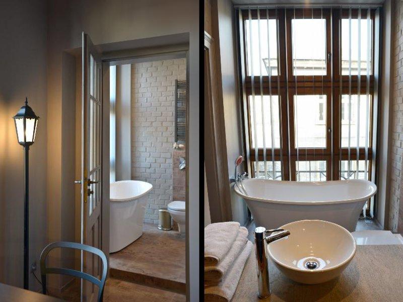 La Gioia Grey Stylish Apartments Wohnbeispiel