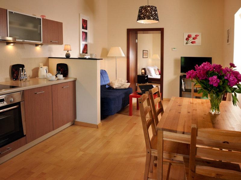 Siesta Aparthotel Wohnbeispiel