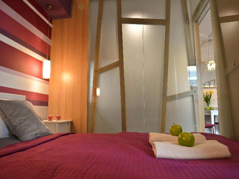 La Gioia Kazimierz Modern Apartments Wohnbeispiel
