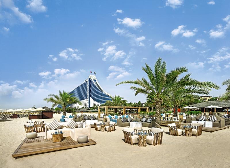 The Jumeirah Beach Hotel Terrasse