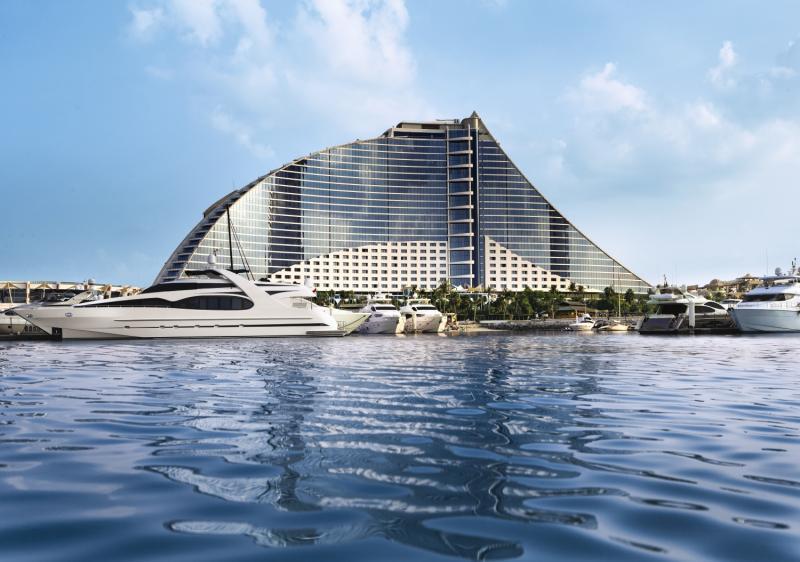 The Jumeirah Beach Hotel Außenaufnahme