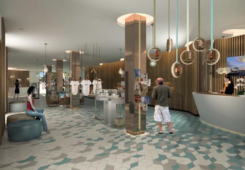 The Jumeirah Beach Hotel Lounge/Empfang