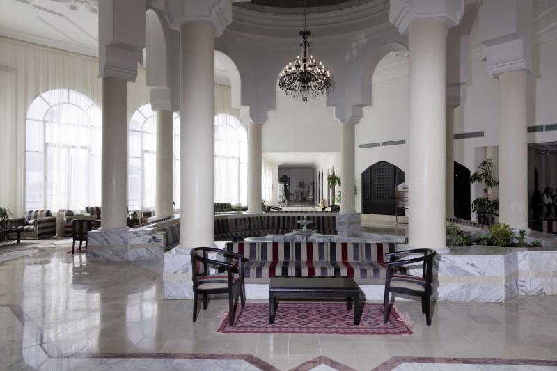 Golf Beach Djerba & Spa Lounge/Empfang
