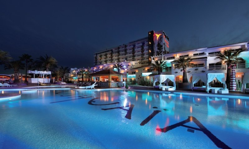 Ushuaia Ibiza Beach Hotel - Club & Tower - Erwachsenenhotel Außenaufnahme