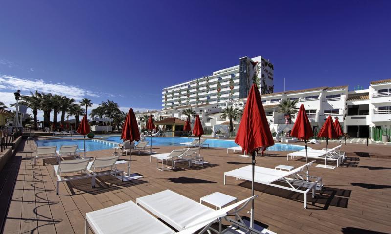 Ushuaia Ibiza Beach Hotel - Club & Tower - Erwachsenenhotel Terrasse