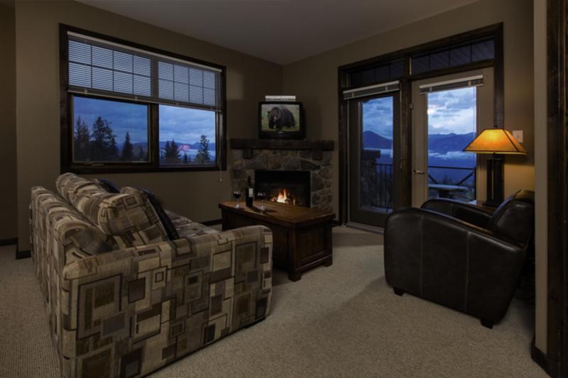 Glacier Mountain Lodge Wohnbeispiel