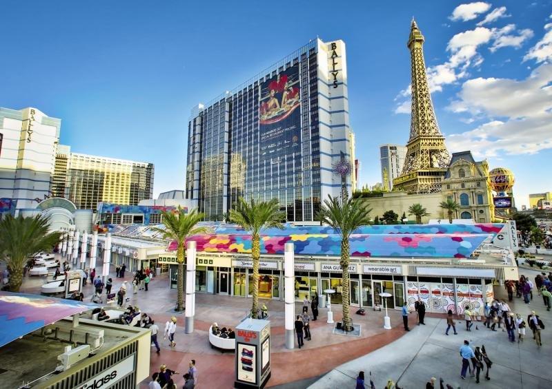 Bally´s Hotel & Casino Las Vegas Außenaufnahme
