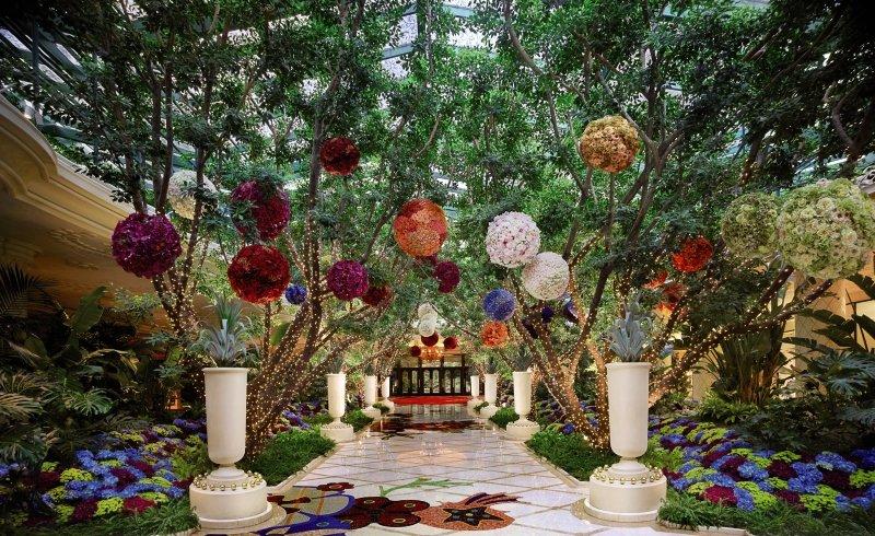 Wynn Las Vegas Garten