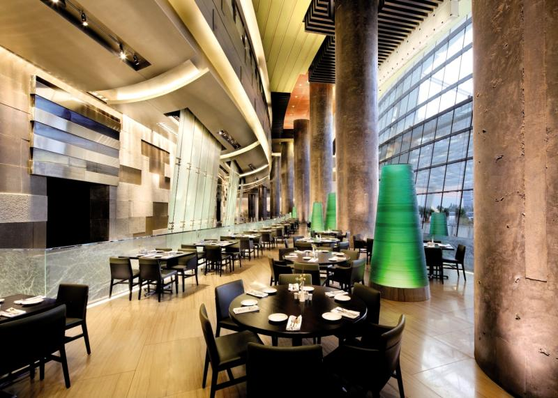 Aria Resort & Casino Lounge/Empfang