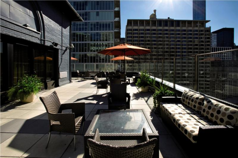 Inn of Chicago Magnificent Mile Terrasse