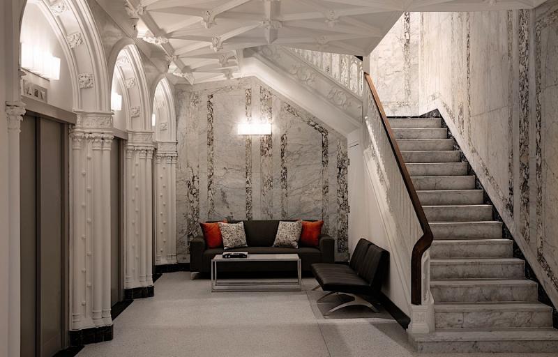 Godfrey Hotel Boston Lounge/Empfang