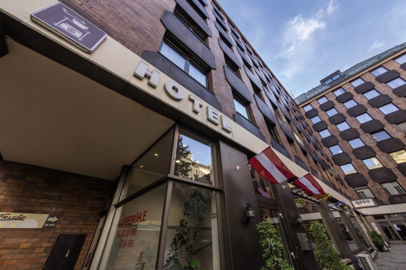 Novum Hotel Kaffeemühle Wien Außenaufnahme
