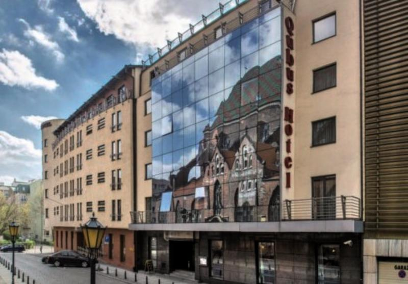 Qubus Hotel Wroclaw Außenaufnahme