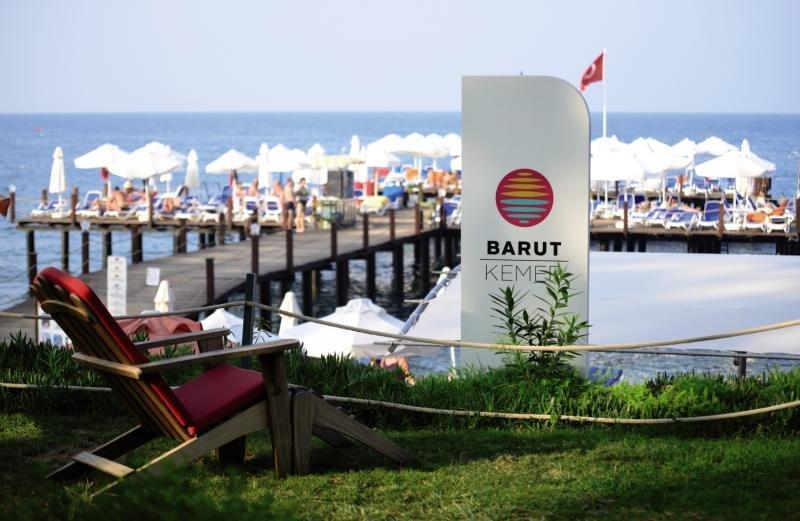 Barut Kemer Resort Strand