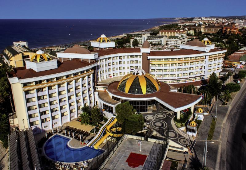 Side Alegria Hotel & Spa Terrasse