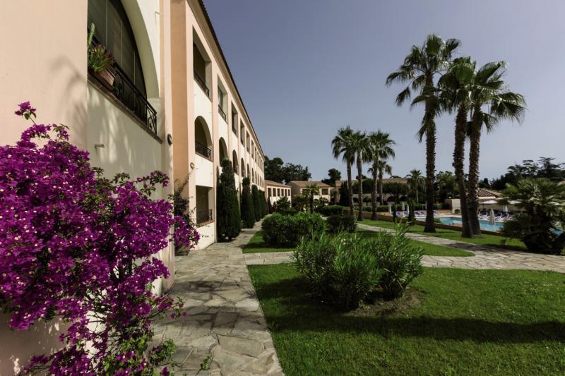 Odalys Residence Sognu Di Mare Garten