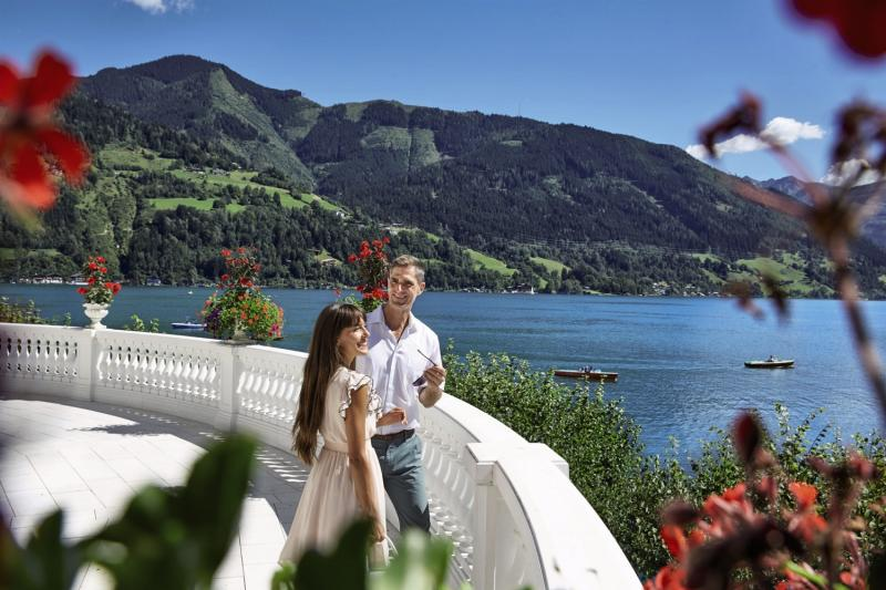 Grand Hotel Zell am See Landschaft