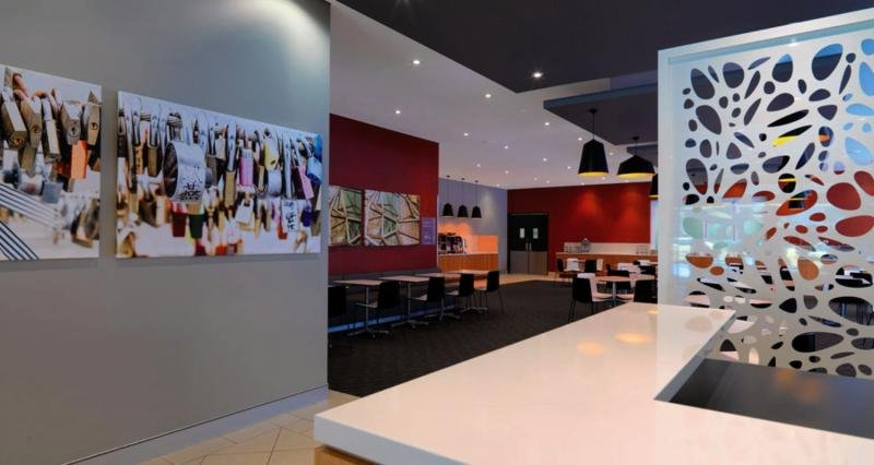 Travelodge Southbank Melbourne Lounge/Empfang