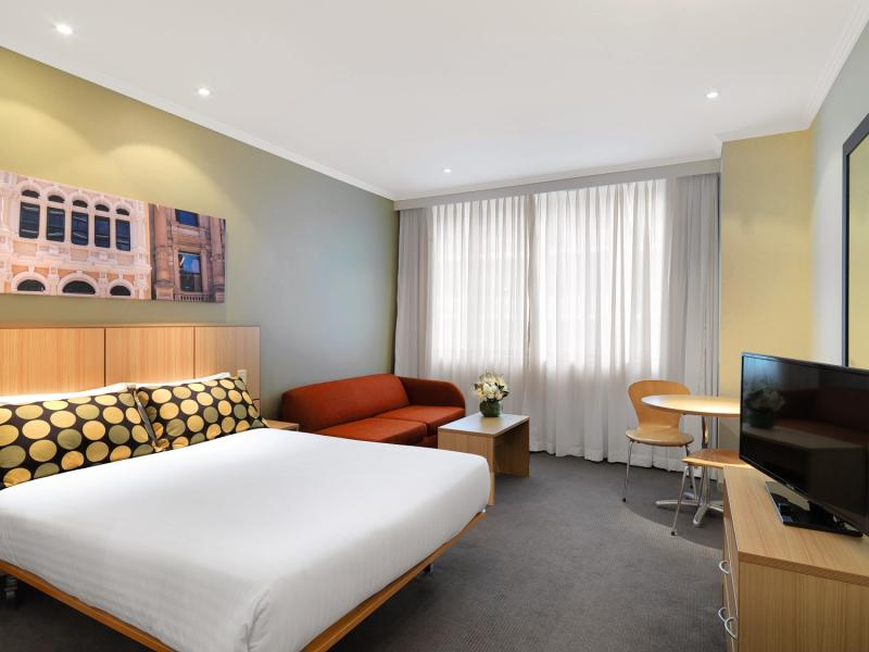 Travelodge Hotel Sydney Martin Place Wohnbeispiel