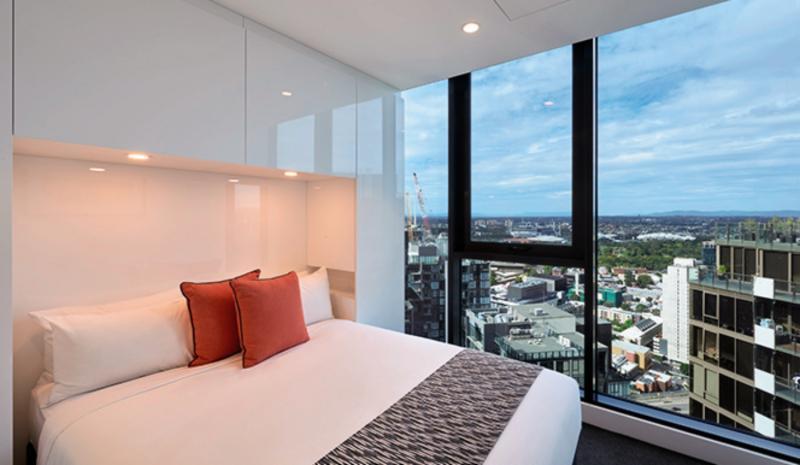 Melbourne Short Stay Apartments Lonsdale Street Wohnbeispiel