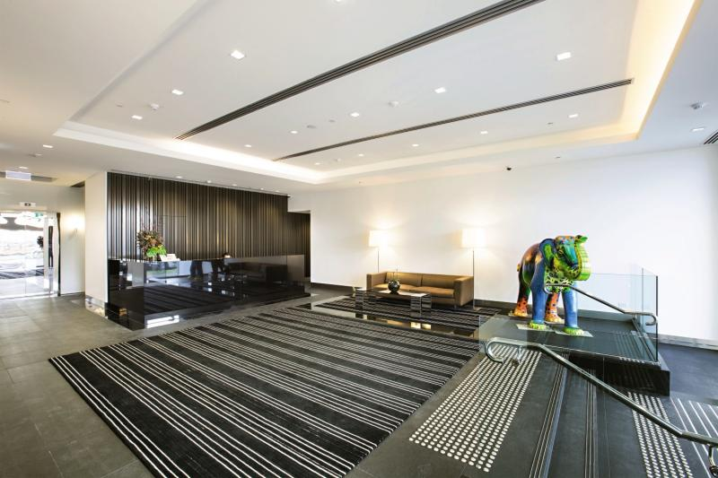 Melbourne Short Stay Apartments Lonsdale Street Lounge/Empfang