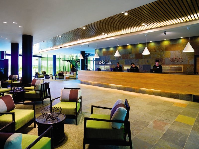 Adina Apartment Hotel Darwin Waterfront Lounge/Empfang