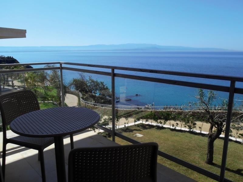 Blue Bay Resort Terrasse
