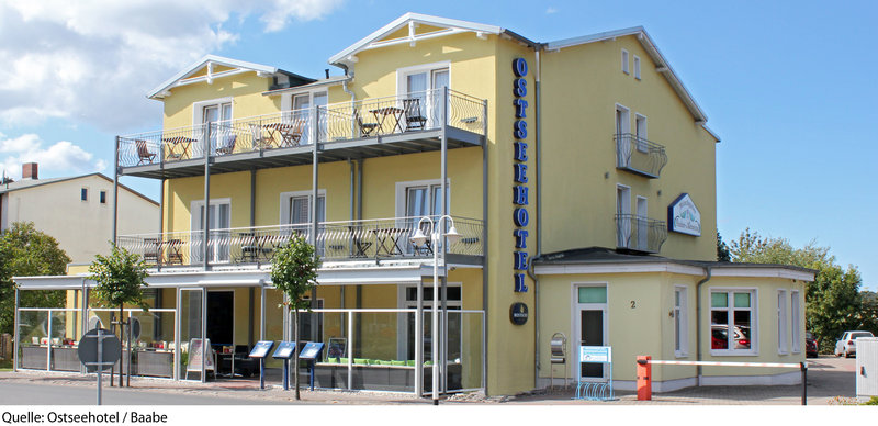 Ostseehotel Baabe Außenaufnahme