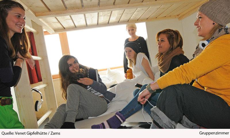 Venet Gipfelhütte Personen