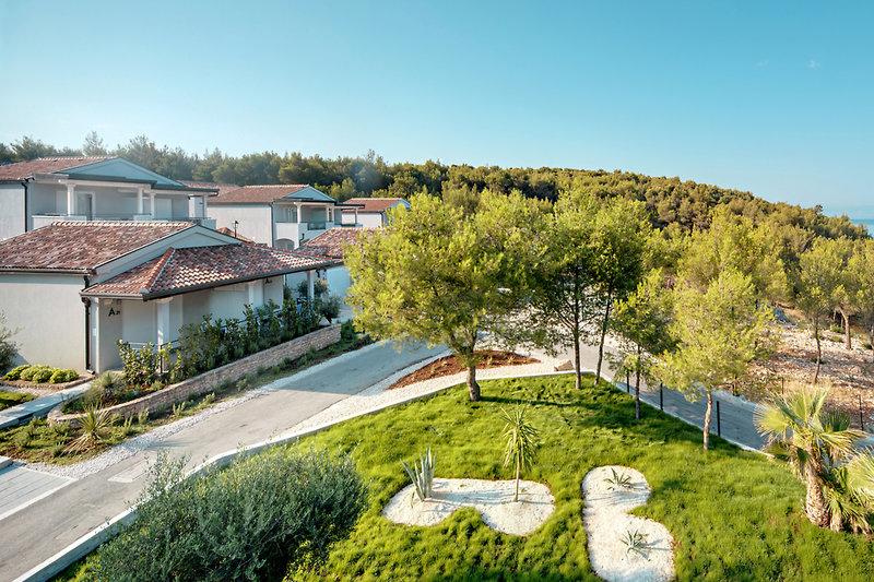 Waterman Milna Resort Garten