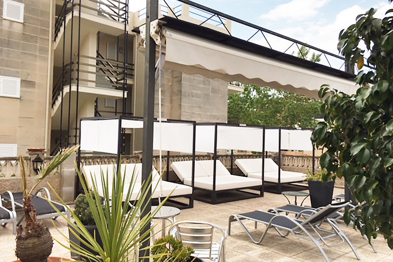 Apartements Carabela II Terrasse