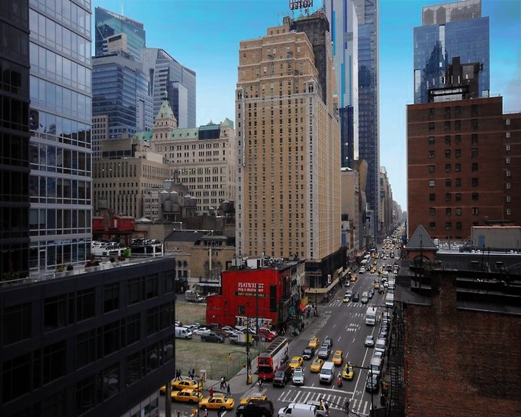Econo Lodge Times Square Außenaufnahme