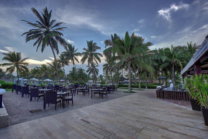 Crowne Plaza Resort Salalah Terrasse
