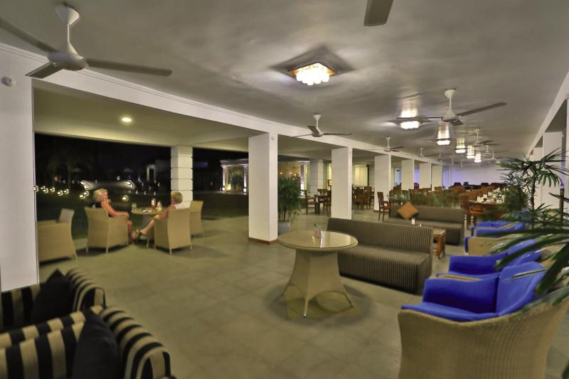 Hibiscus Beach Lounge/Empfang