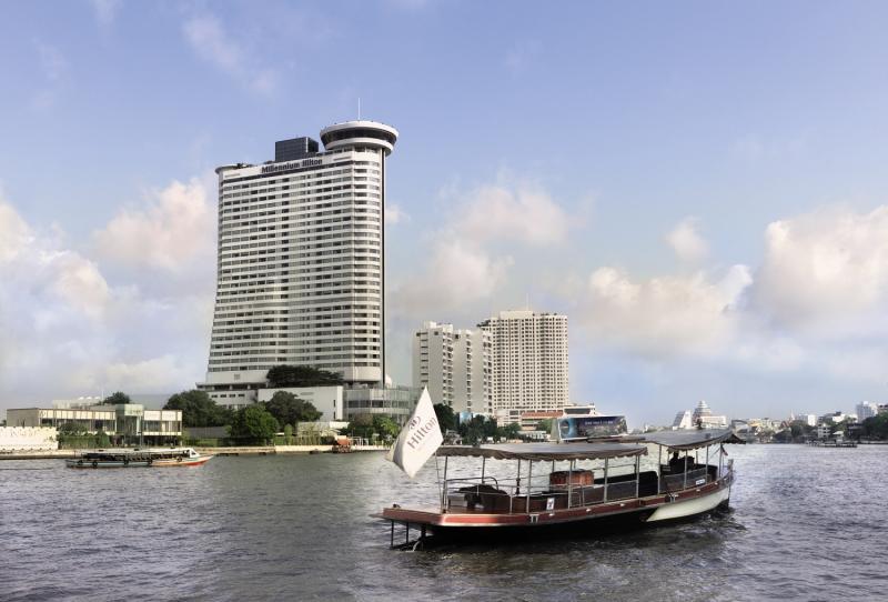Millennium Hilton Bangkok Außenaufnahme