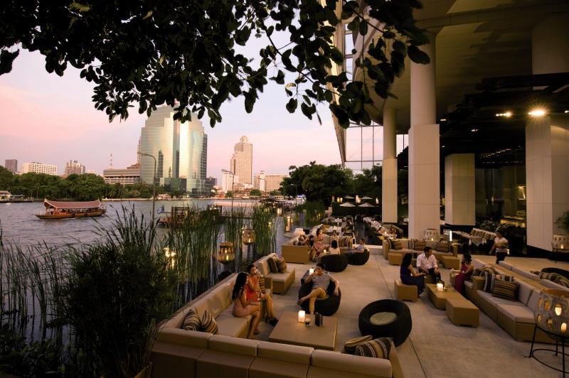 Millennium Hilton Bangkok Terrasse
