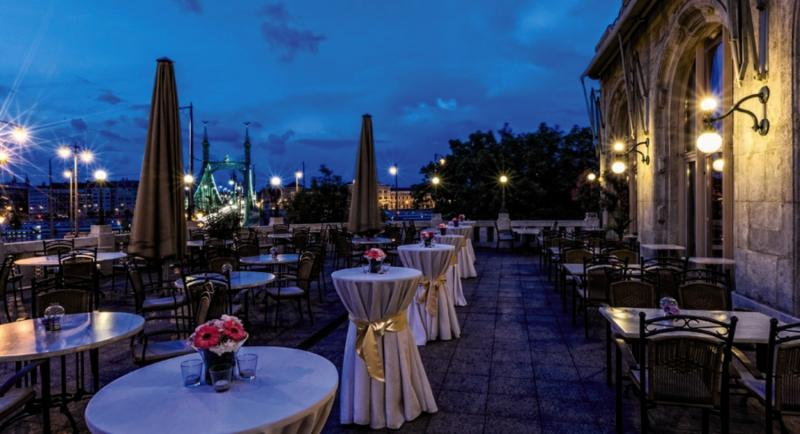 Danubius Gellert Terrasse
