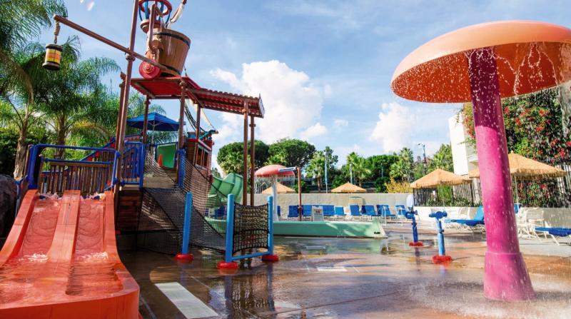 Howard Johnson Anaheim Hotel & Water Playground Sport und Freizeit