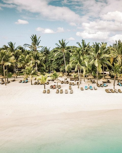 Trou aux Biches Beachcomber Golf Resort & Spa Strand