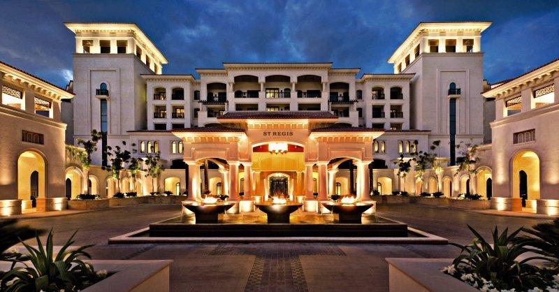 The St. Regis Saadiyat Island Resort, Abu Dhabi Außenaufnahme