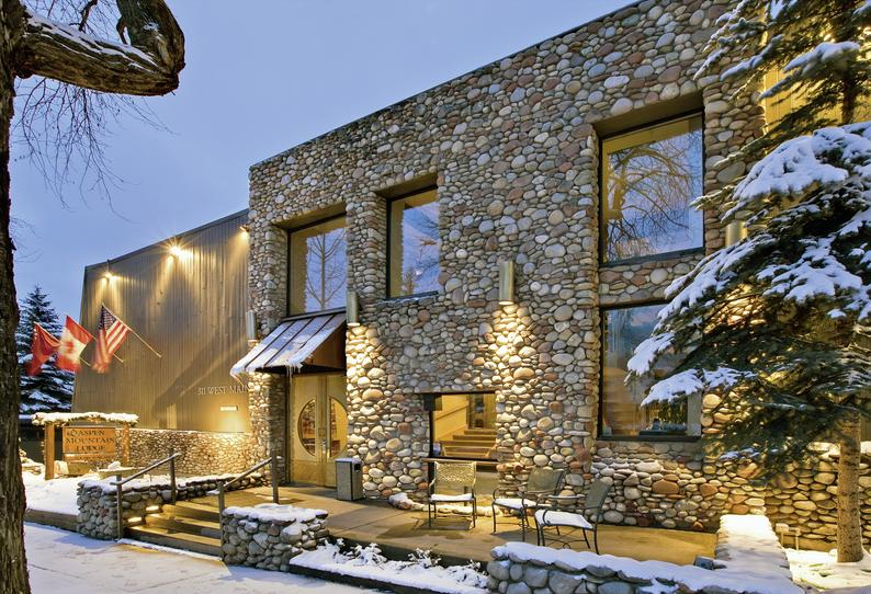 Aspen Mountain Lodge Terrasse