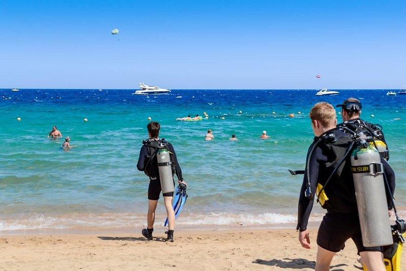 Ghazala Beach Sport und Freizeit