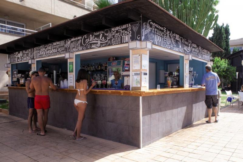 Ibersol Son Caliu Mar Lounge/Empfang