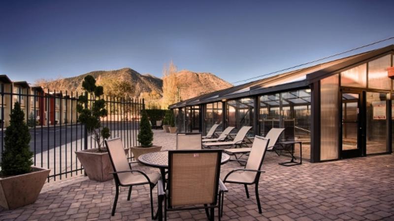 Best Western Pony Soldier Inn & Suites Terrasse