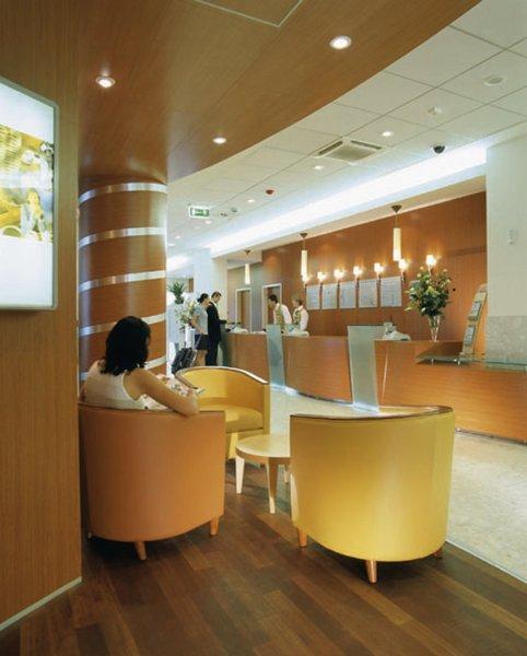 Novotel Krakow Centrum Lounge/Empfang