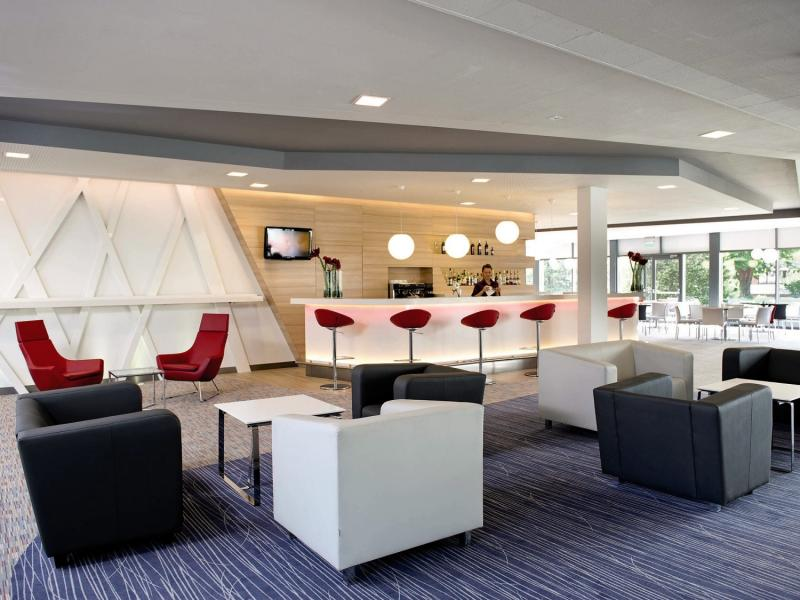 Novotel Wroclaw City Hotel Lounge/Empfang