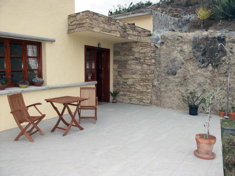Finca Casa Cueva Terrasse