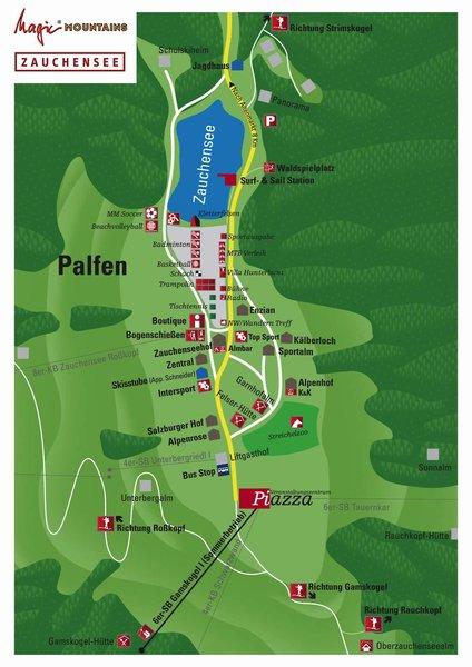 Zauchenseehof Landkarte